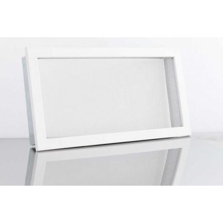 Решетка вентиляционная для камина сетка Ventlab KRVSM 200х145 белая