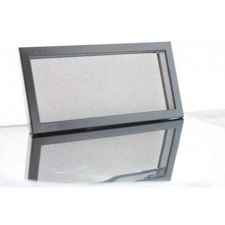 Решетка вентиляционная для камина сетка Ventlab KRVSM 200х145 черная