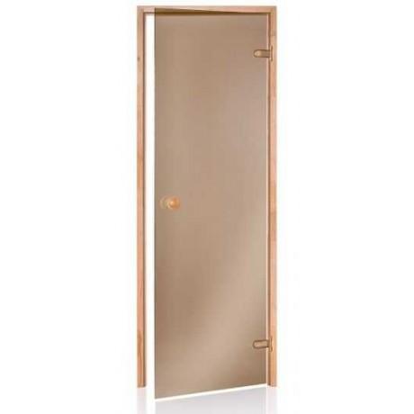 Двери для сауны Andres бронза 70х200