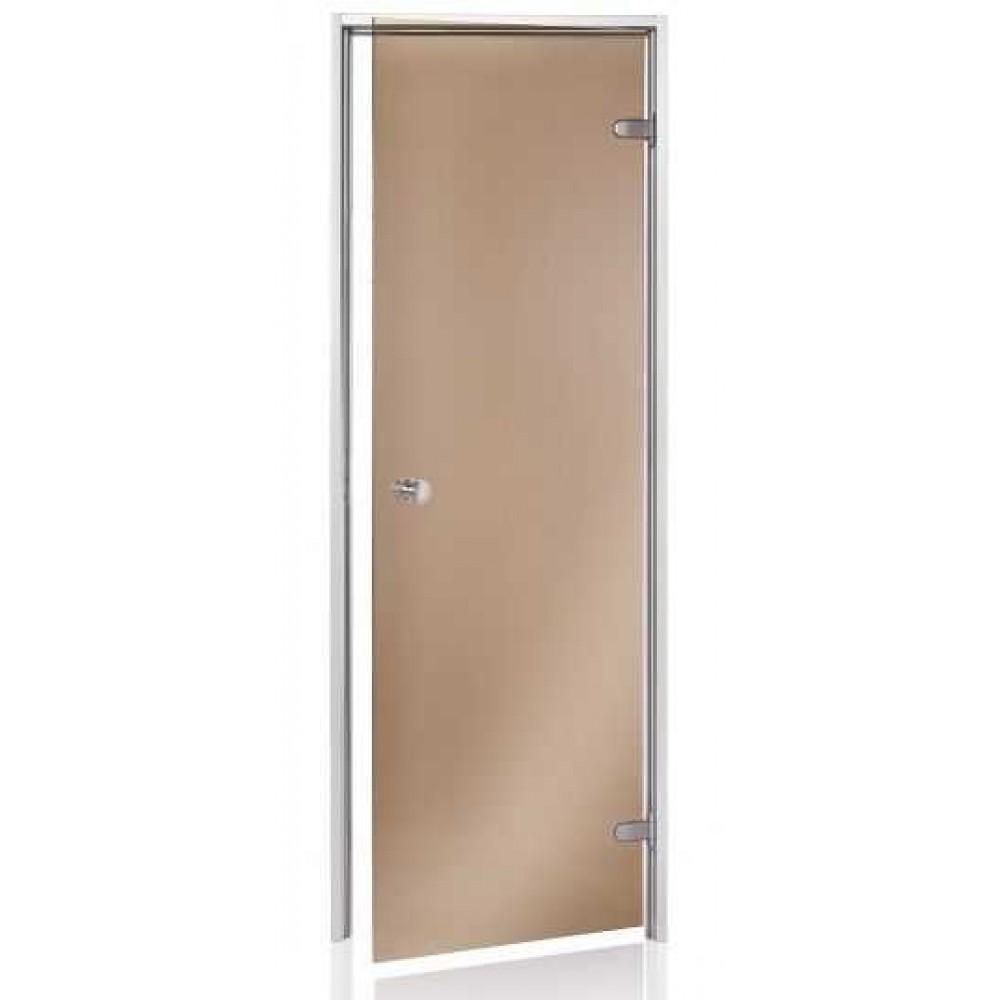 Дверь для хаммама (турецкой бани) Andres бронза 80х190